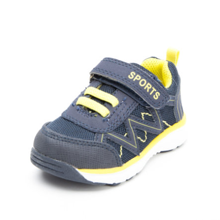 Be Mega Boys Halbschuh navy-yellow