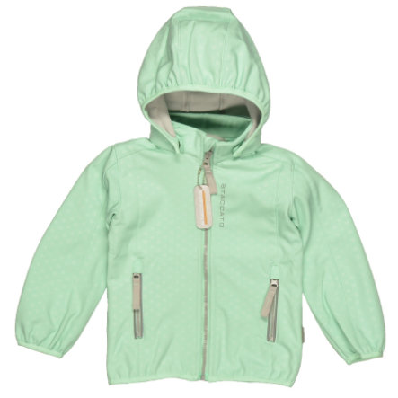 STACCATO Girls Mini Softshelljacke opal