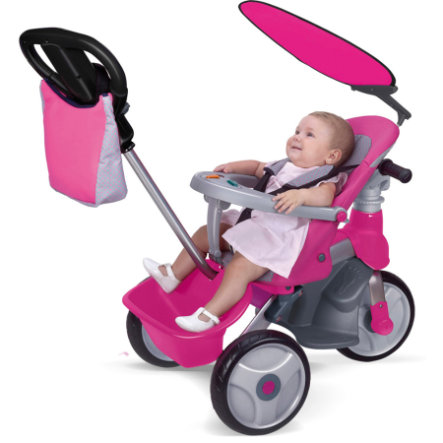FEBER Tricycle Baby Trike Easy Evolution, fille