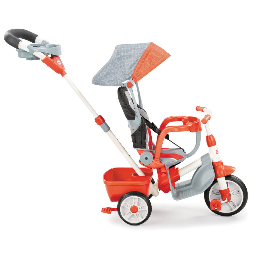 little tikes 5-in-1 Trike Komfort Edition Orange/Grau
