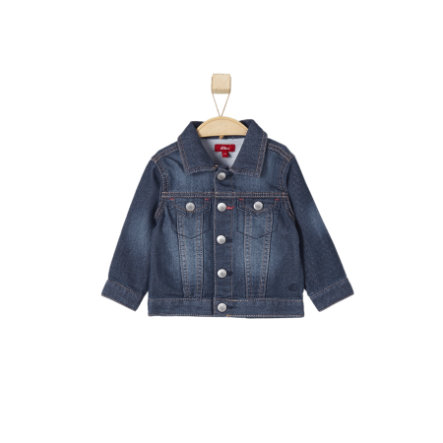 s.OLIVER Boys Sweatjacke blue denim