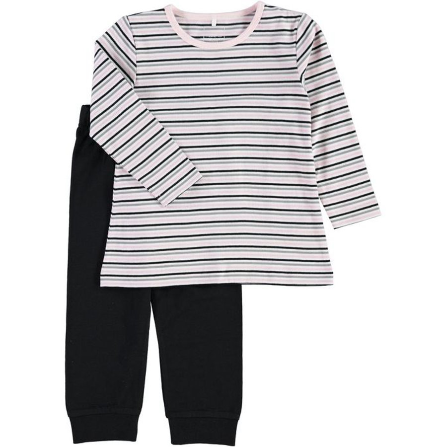 NAME IT Girls Pyjama 2-delig black
