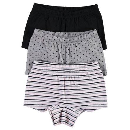 NAME IT Girls Panty 3er Pack grey melange