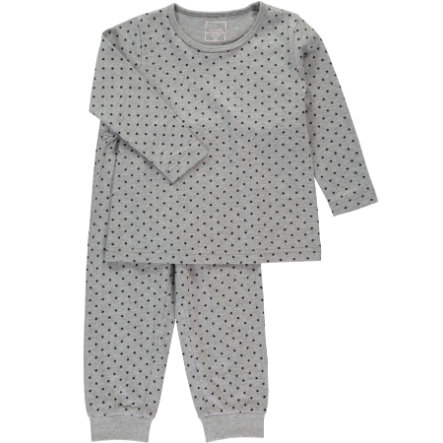 NAME IT Girls Pyjama 2-delig grey melange