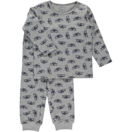 NAME IT Boys Pyjama 2-delig grey melange