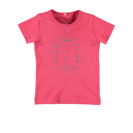 NAME IT Girls T-Shirt NITVEEN rouge red