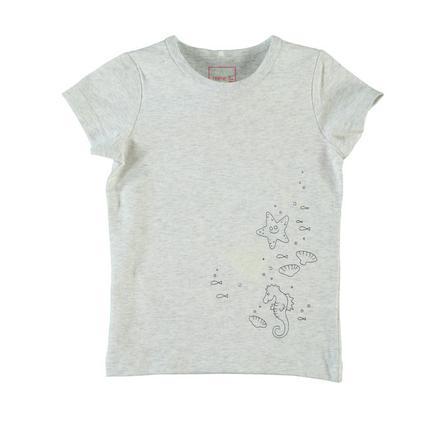 NAME IT Girls T-Shirt NITVIX light grey melange