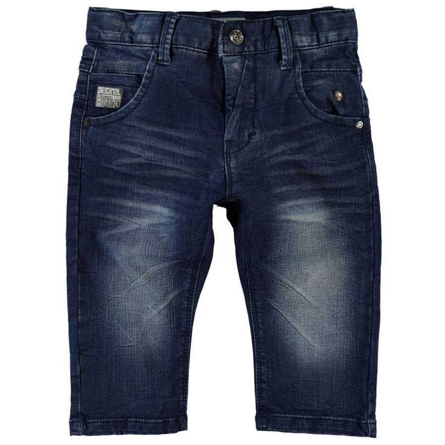 NAME IT Boys Džínové šortky NITRAY slim dark denim