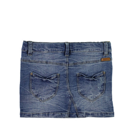 NAME IT Girls Džínová sukně NITSIRI slim medium blue denim