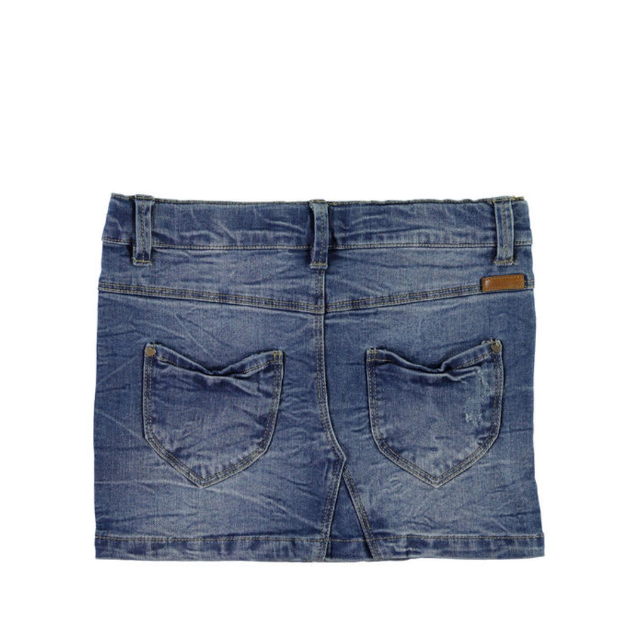 NAME IT Girls Jeansrock NITSIRI slim medium blue denim