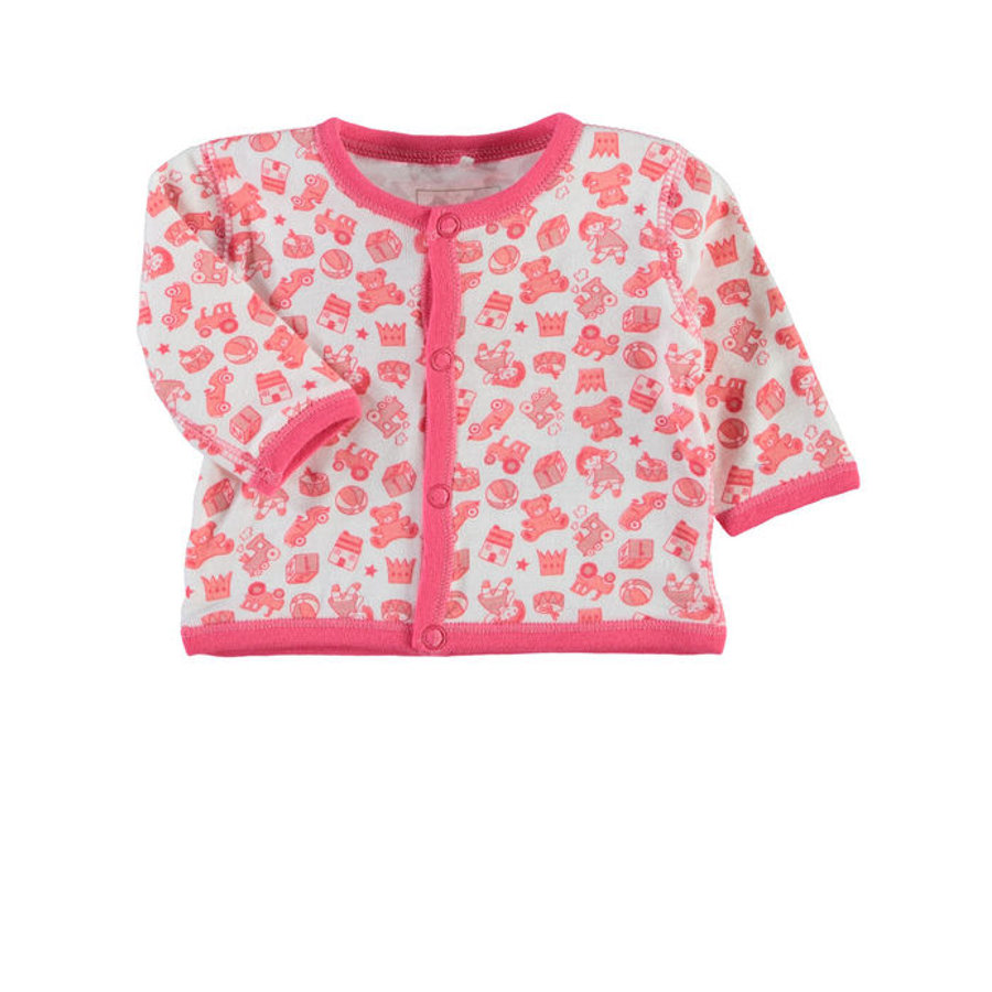 NAME IT Girls Sweter dla wcześniaka NITWANT rouge red