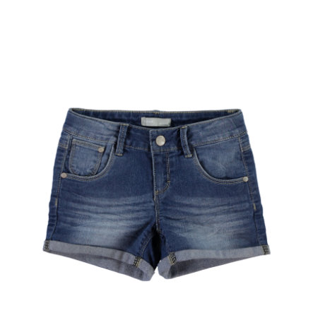 NAME IT Girls Szorty Jeans NITSIRI slim dark blue denim