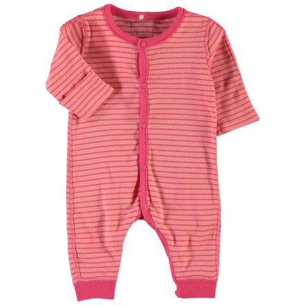 NAME IT Girls Frühchen Schlafoverall NITWONDER salmon rose