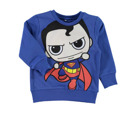 NAME IT Boys Sweater NITSUPERHEROES blau
