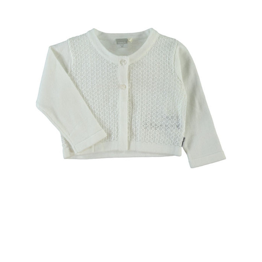 NAME IT Girls Bluza NITSELMA bright white