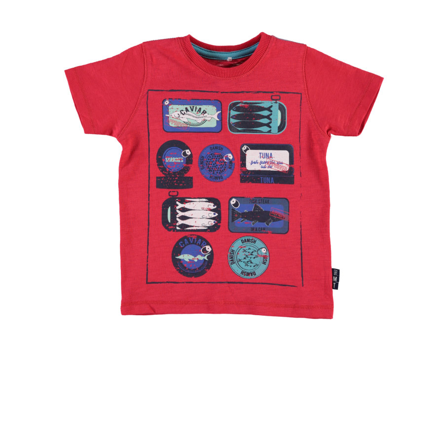 NAME IT Boys T-Shirt NITGOMMY rot