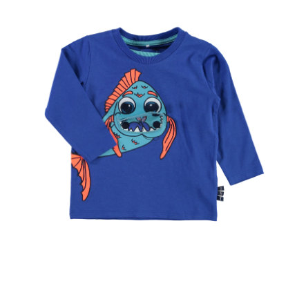 NAME IT Boys Longsleeve NITGERAN blau
