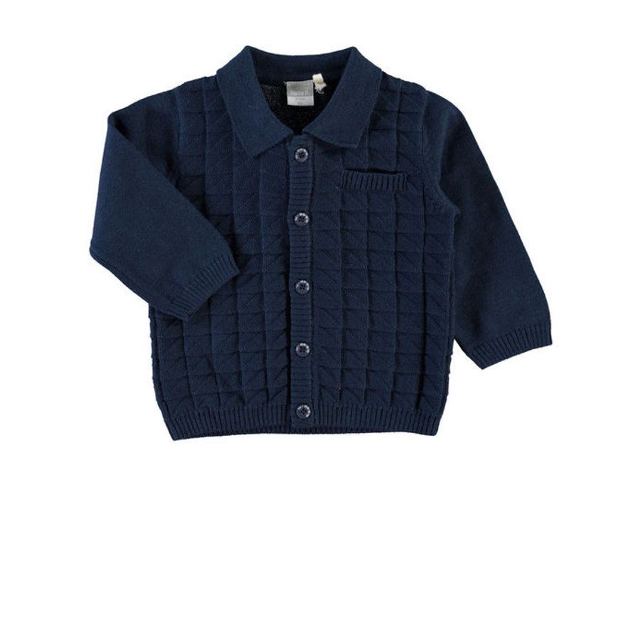 NAME IT Boys Baby Sweter dress blues