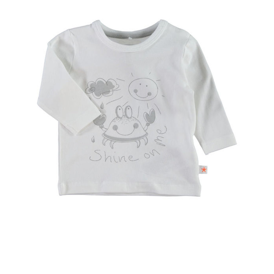 NAME IT Newborn Unisex Longsleeve UBBE weiß