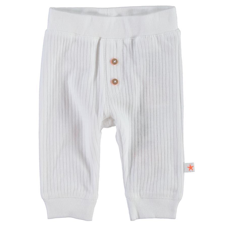 NAME IT Newborn Unisex Kalhoty UBIE bílé