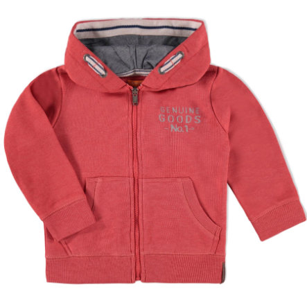 STACCATO Boys Mini Sweatjacke soft red melange