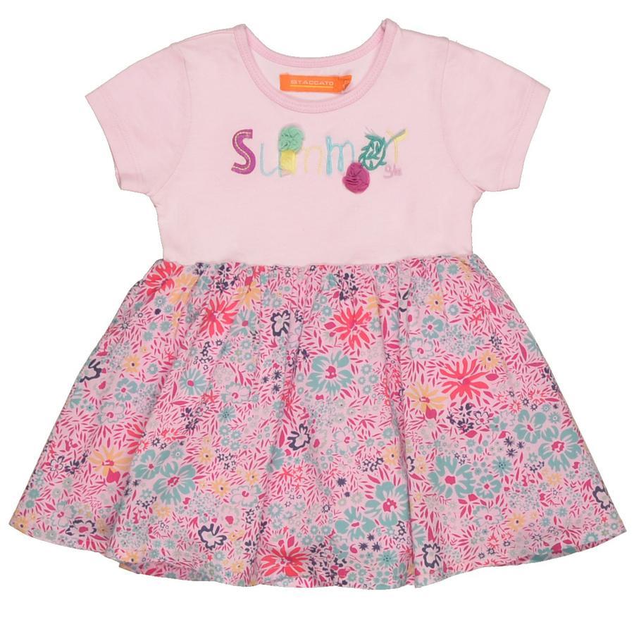 STACCATO Baby klänning lavendel aop