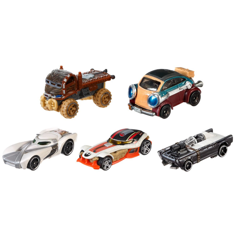 Mattel Hot Wheels Star Wars, 5ks, angličák