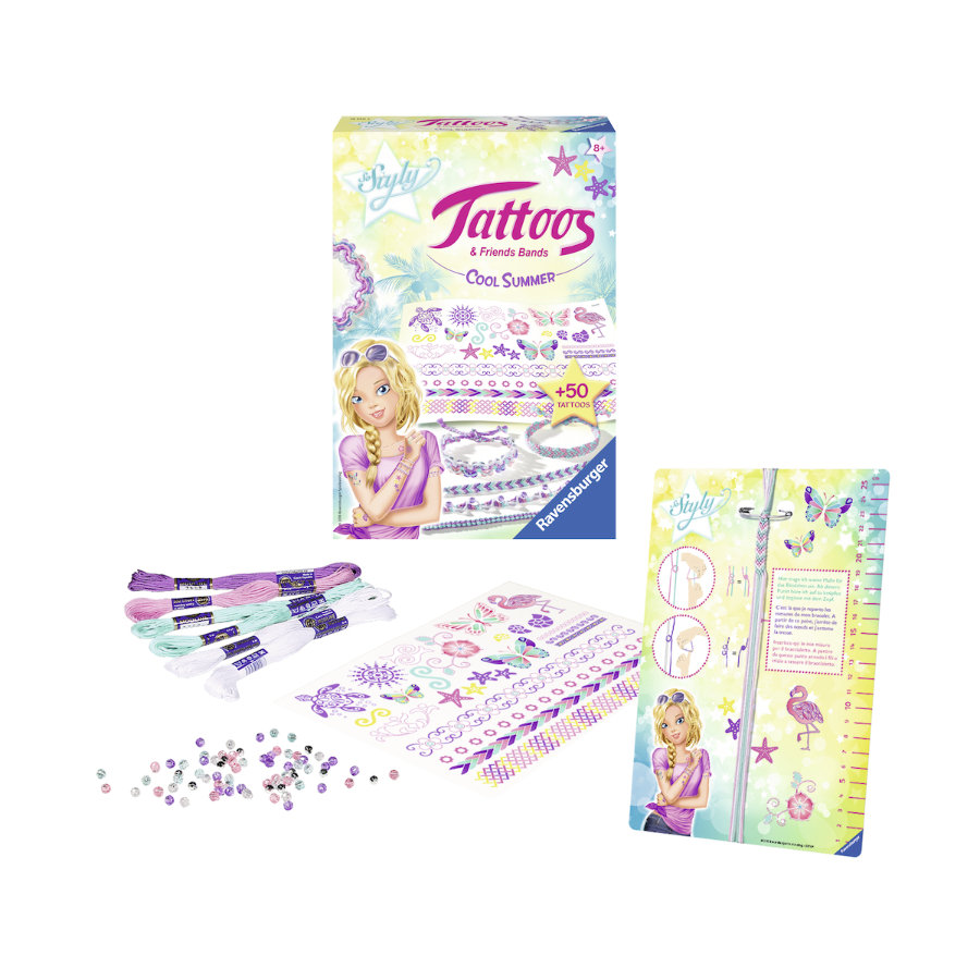 RAVENSBURGER Tattoos & Friends Bands - Cool Summer