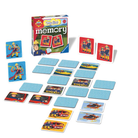 RAVENSBURGER Brandweerman Sam - My first memory®