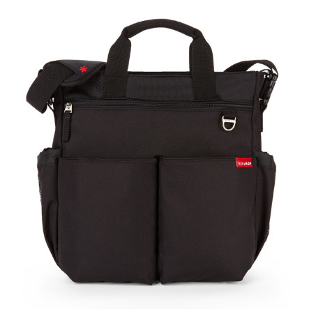 SKIP HOP Duo Deluxe Wickeltasche Signature Black