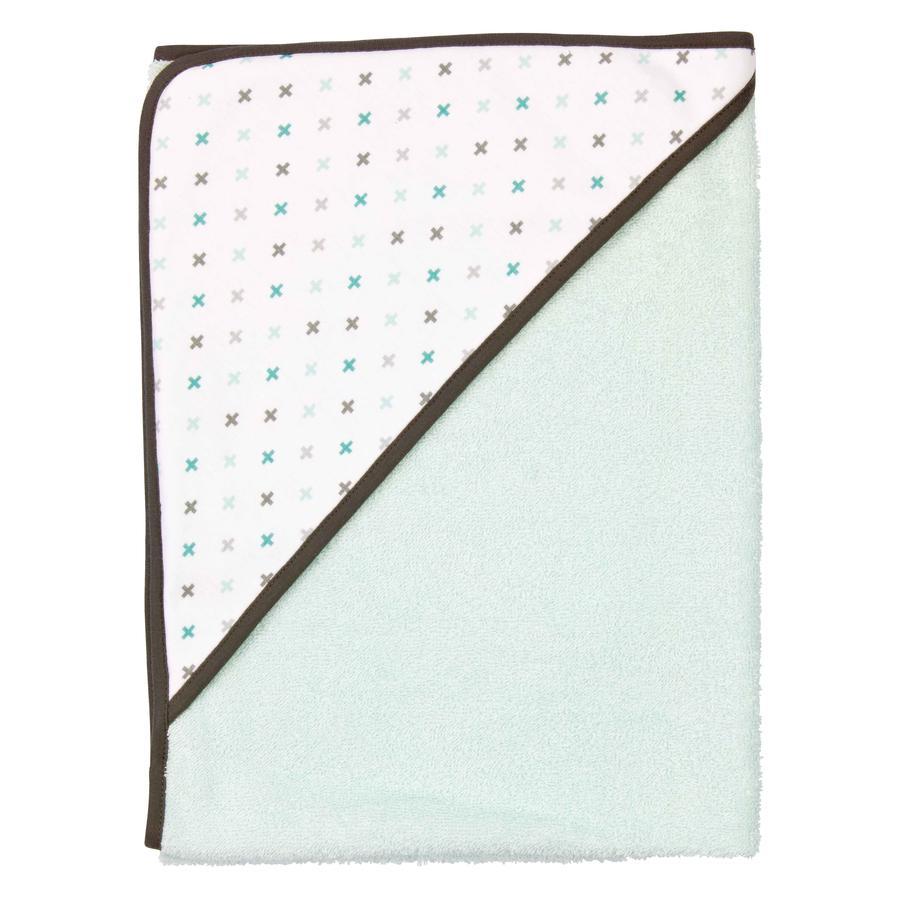 BEBE JOU Ręcznik kąpielowy z kapturem Misty mint