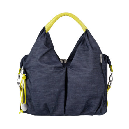 LÄSSIG Green Label Borsa Fasciatoio Neckline Bag denim blue