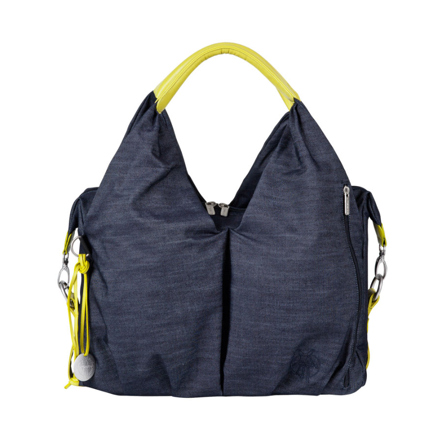 LÄSSIG Green Label Torba na akcesoria do przewijania denim blue