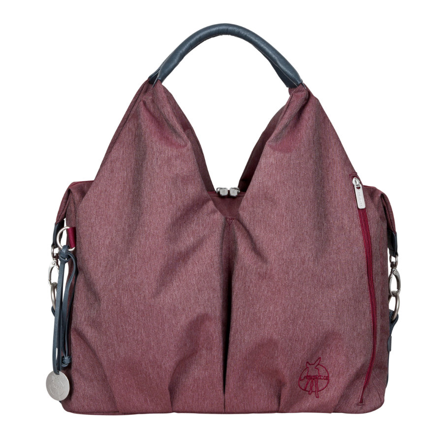 LÄSSIG Sac à langer Green Label Neckline Bag Ecoya burgundy red