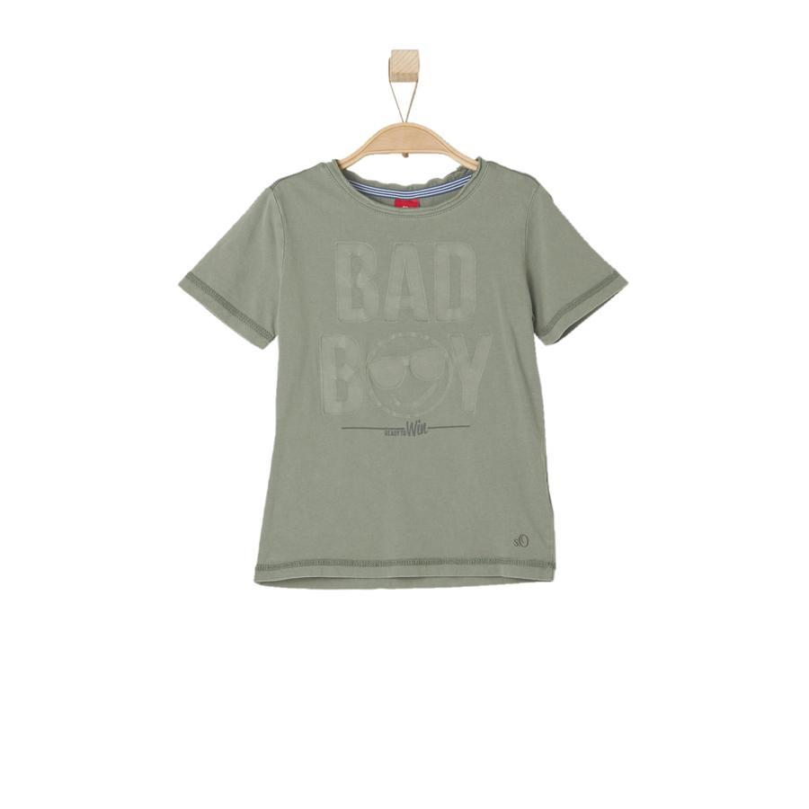 s.OLIVER Boys T-Shirt caqui