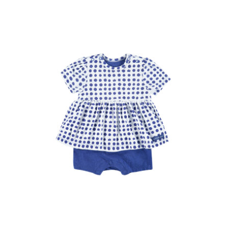 BELLYBUTTON Girls Baby Overal white blue