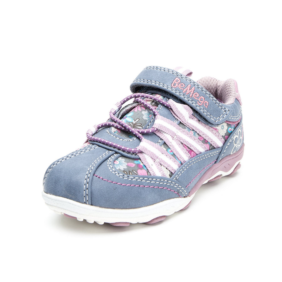 Be Mega Girls Halbschuh blue-fuchsia