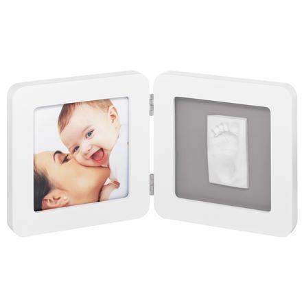 BABY ART BABY ART Fotoram med avtryck - Print Frame white & grey