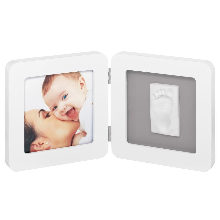 Baby Art Bilderrahmen mit Abdruck - Print Frame white & grey
