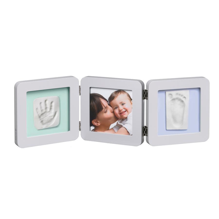 BABY ART Cornice foto con calco - Double Print Frame Pastel