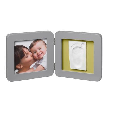 BABY ART BABY ART Fotoram med avtryck - Print Frame Grey