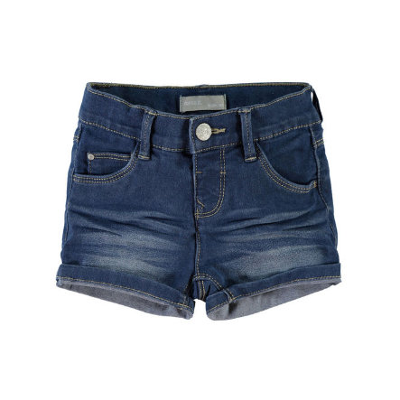 NAME IT Girls Jeans-Short NITSIRI slim medium blue denim