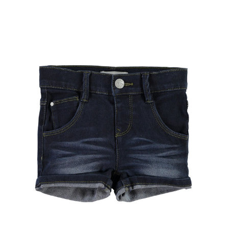 NAME IT Girls Jeans Szorty NITSIRI slim dark blue denim