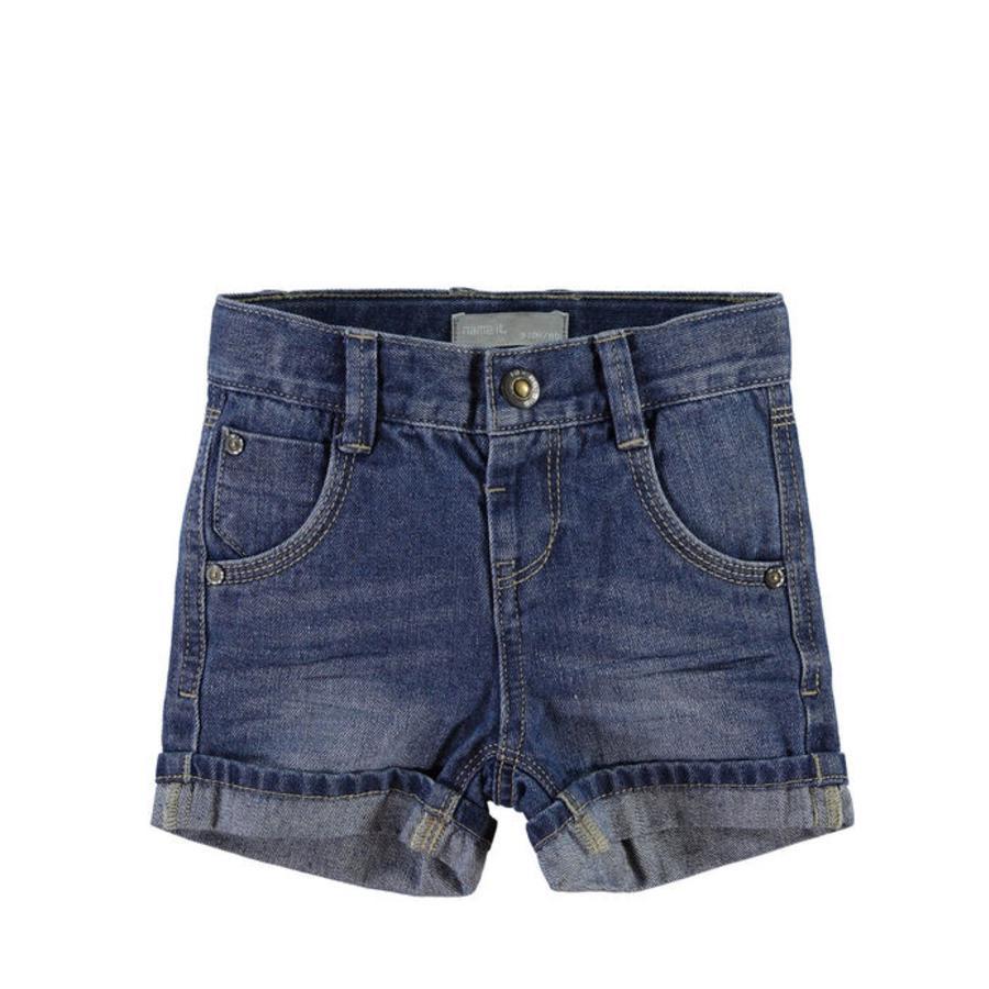 NAME IT Boys Jeans-Short NITROSS jean régulier bleu clair