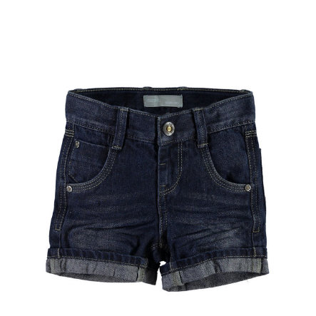 NAME IT Boys Džínové šortky NITROSS regular dark blue denim