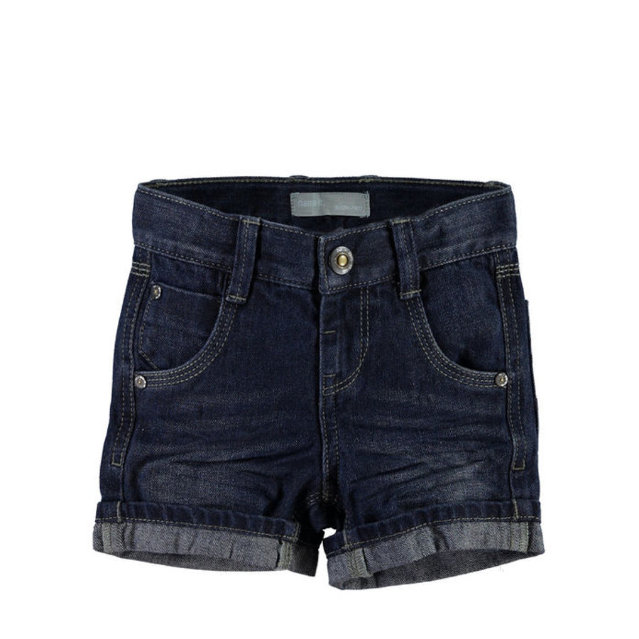 NAME IT Boys Jeans-Short NITROSS regular dark blue denim