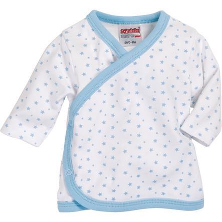 Schnizler Boys Zavinovací tričko s dlouhým rukávem hvězdičky bílo/modré