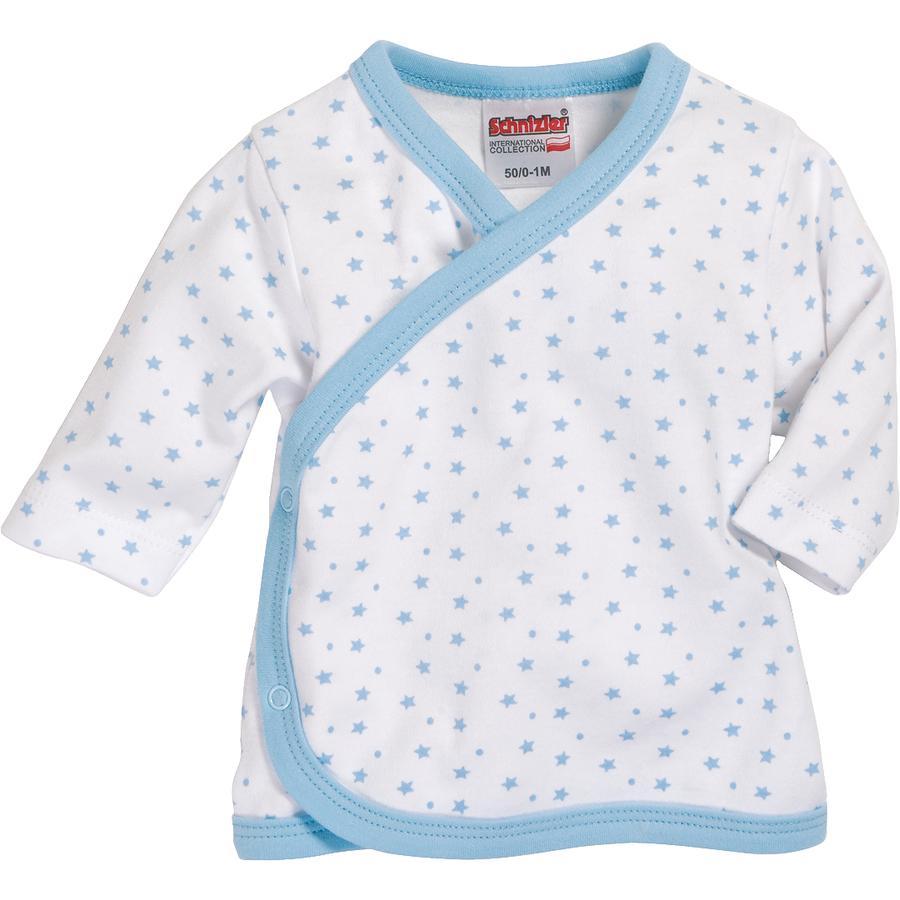 Schnizler Boys Vleugel Shirt Sterren Wit/blauw