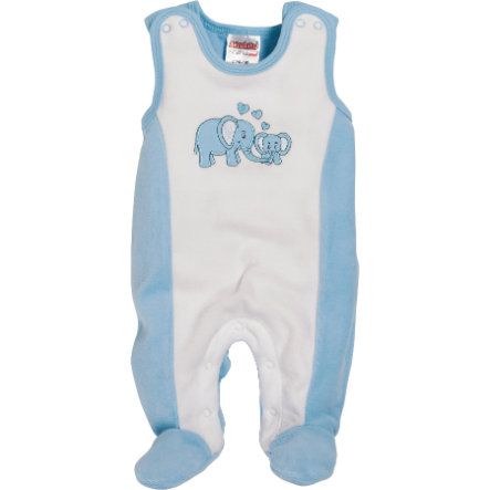 Schnizler Girls Strampler-Set Nicki Elefant Blau