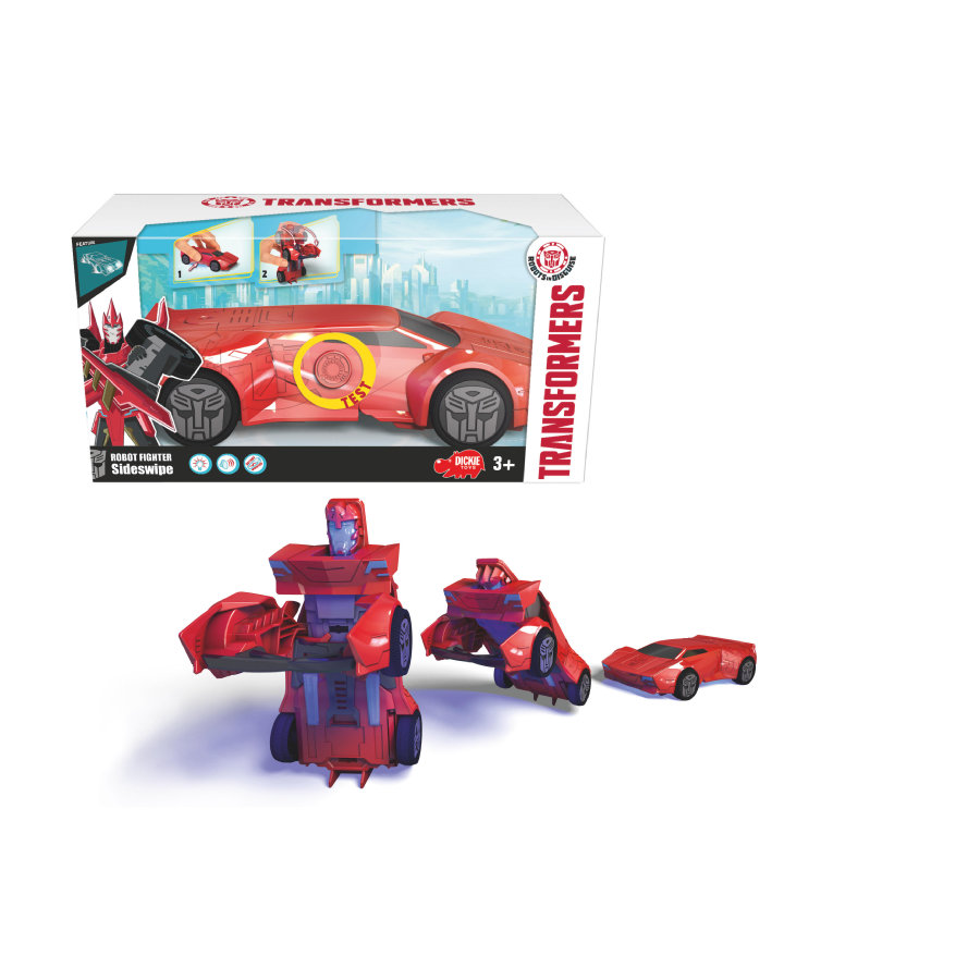 DICKIE Robot Fighter Sideswipe